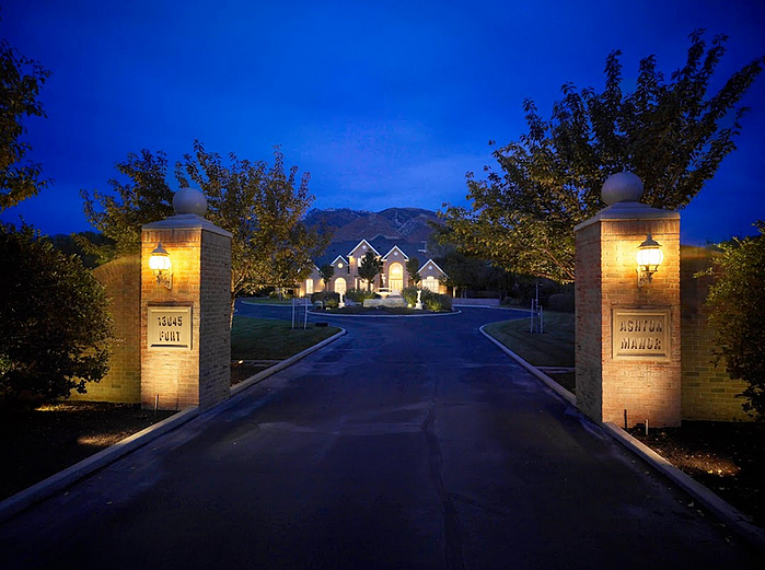 10 tips for hiring a landscape lighting designer aloadofball Choice Image