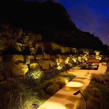 How much does LED landscape lighting cost to maintain? Find out here.