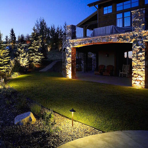 5 ways to ensure your outdoor lighting system will fail wall wash tree pathway lighting park city utah publicscrutiny Image collections