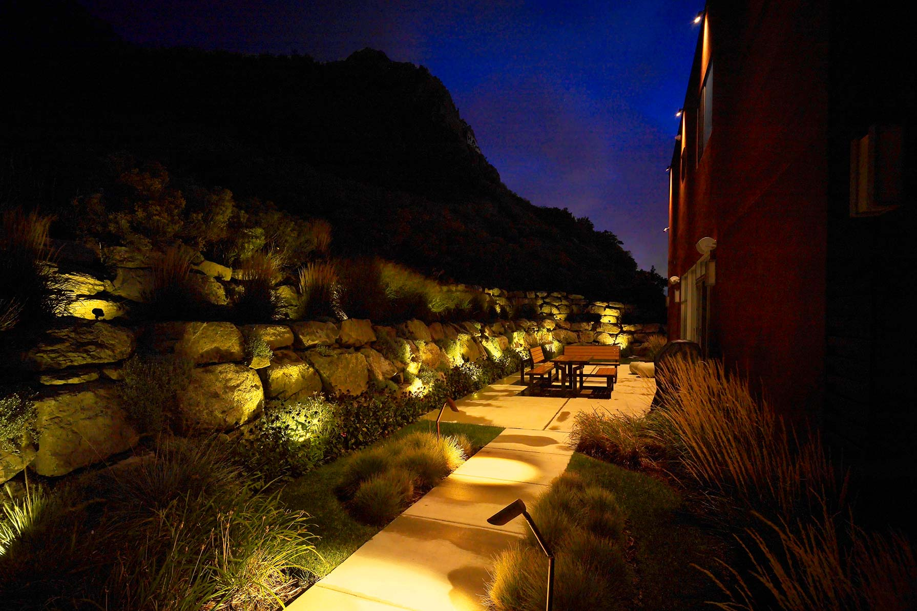 Led landscape lighting salt lake city park city utah check out our gallery mozeypictures