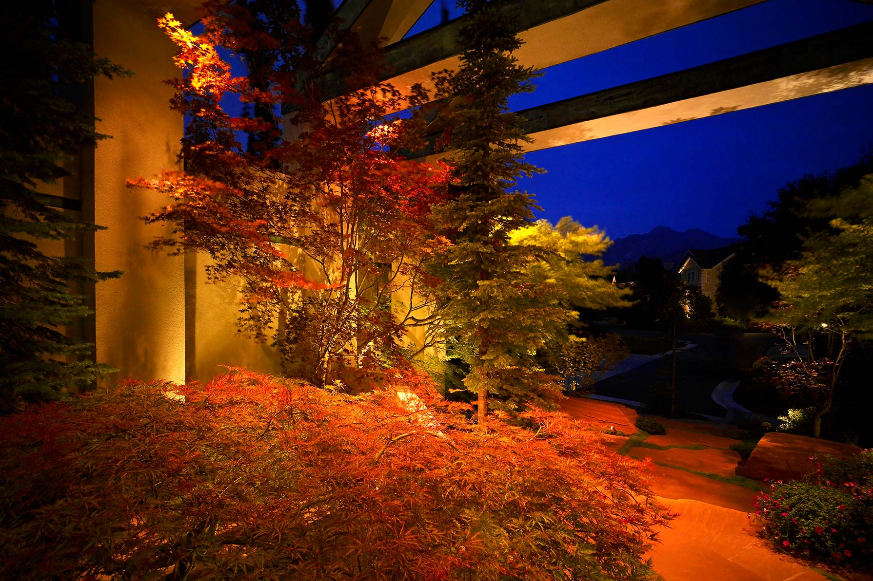 landscaping lighting lights michigan low how to images of garden landscape voltage light install