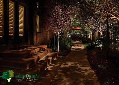 Down Lighting Pathway