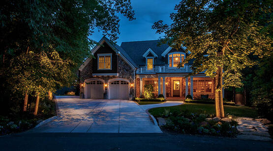 lighting for curb appeal it s all about the light