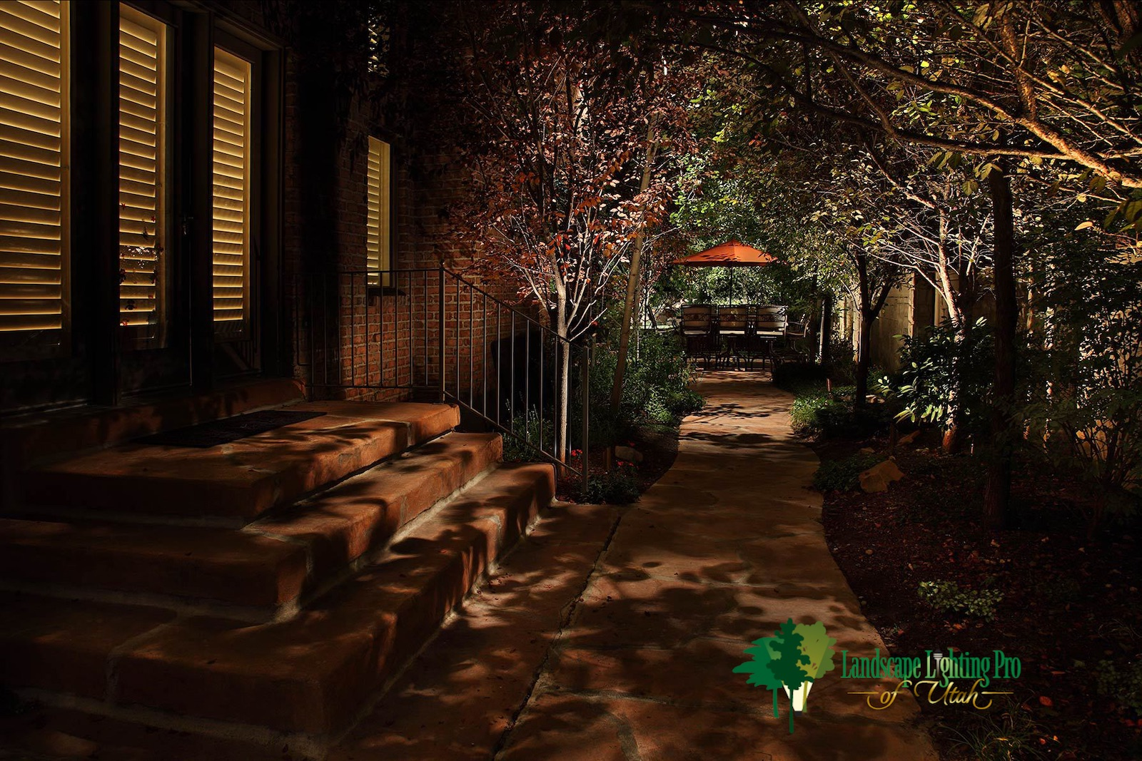 Path and Step Lighting Millcreek Utah