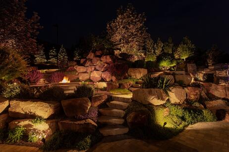 Fire-Pit-Draper-Lighting_Stair_Accents