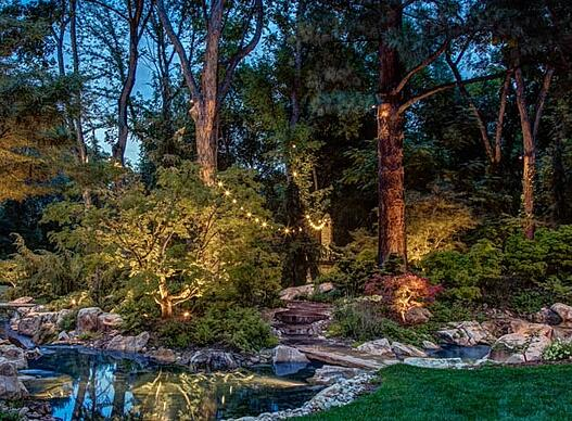 Holladay-landscape-lighting-beauty-security-pond-patio-bistro