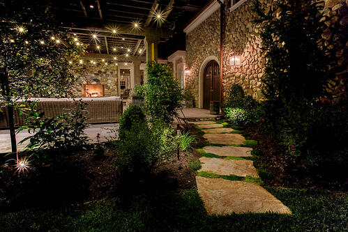 Swing into summer by installing cafe bistro lighting or patio string patio bistro lighting holladay utah 2g publicscrutiny Image collections