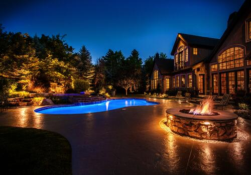Draper-Utah-Pool-Lighting
