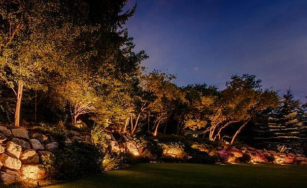 Top 3 landscape lighting design trends things to consider for 2018 wall accent lighting salt lake city utahg aloadofball Choice Image