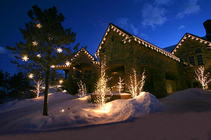 How much does outdoor holiday lighting cost aloadofball Images