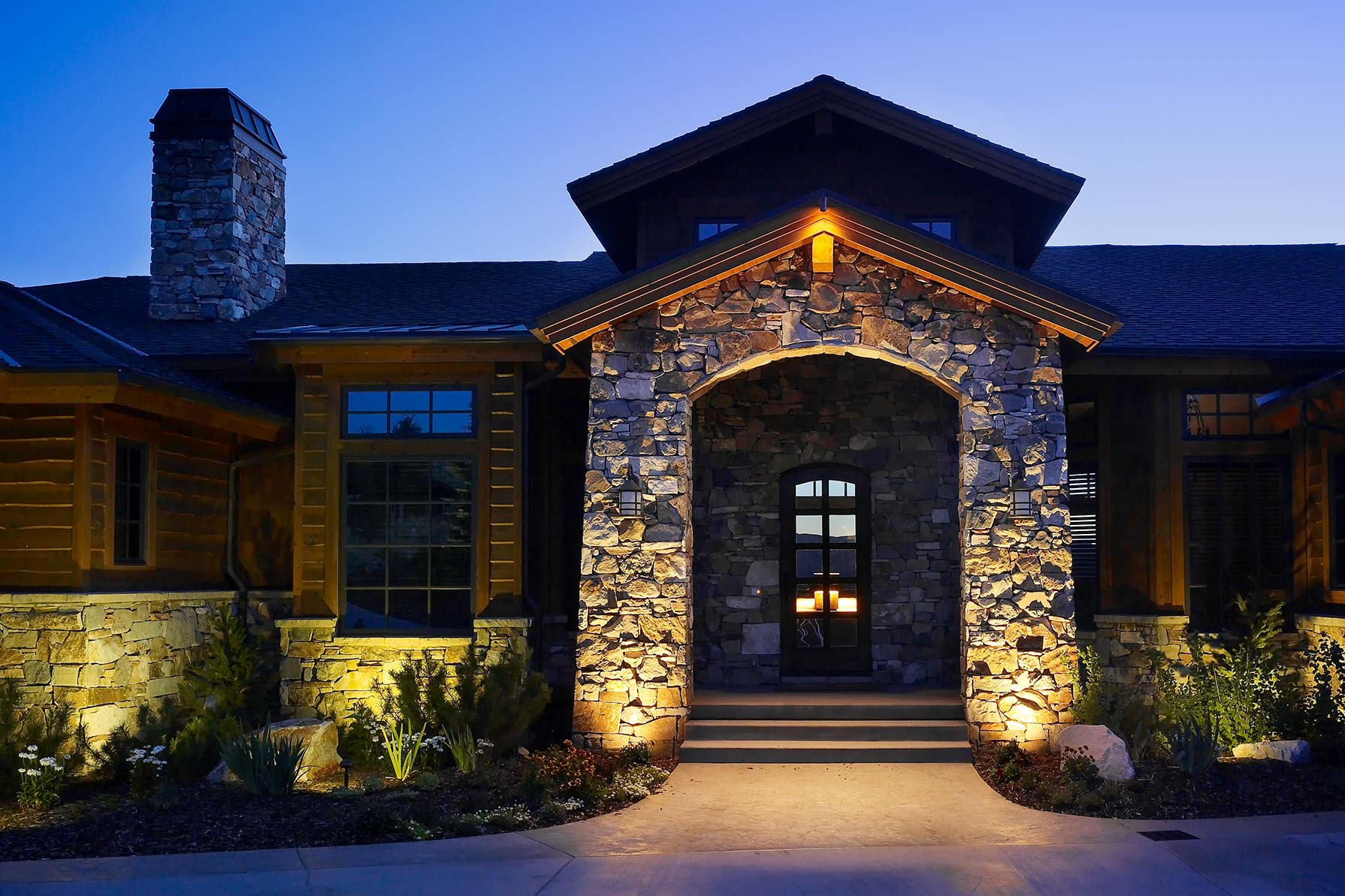 downlighting vs uplighting park city utah