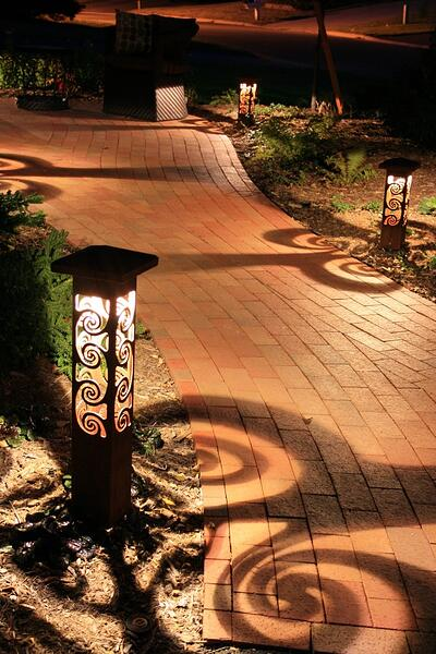 Lighting Your Park City Mountain Home With Steel Bollards