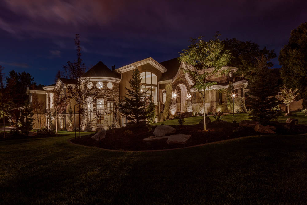 outdoor-security-residential-landscape-lighting-salt-lake-city- & Making Outside My Home Safe With Security Lighting azcodes.com