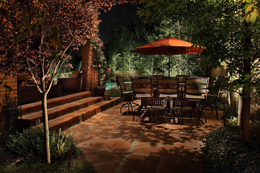 Patio And Down Lighting Sandy Utah 1