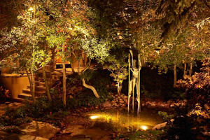 pond-and-statuary-lighting-salt-lake-city-utah