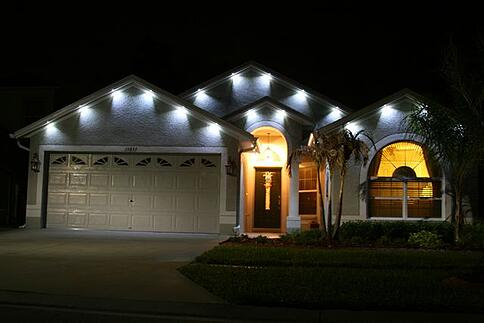 Architectural Up Lighting: The Alternative to Exterior Soffit Lighting