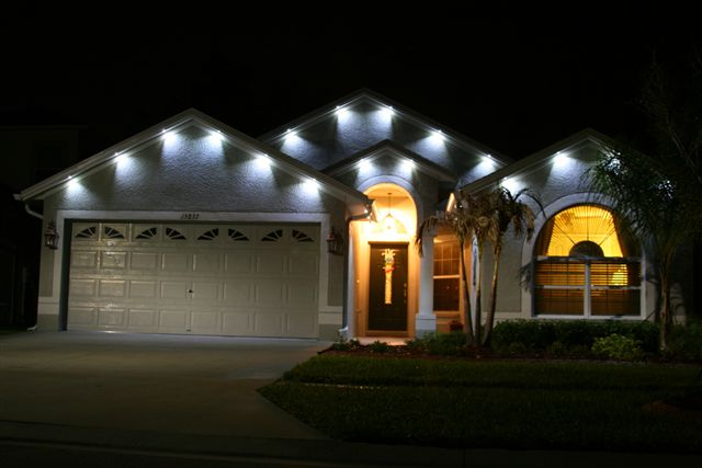 Architectural Up Lighting The Alternative to Exterior Soffit Lighting