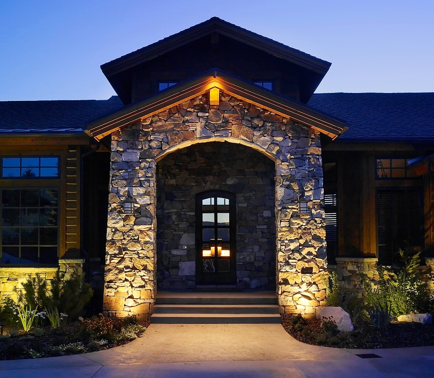 Existing when to install hardscape lighting