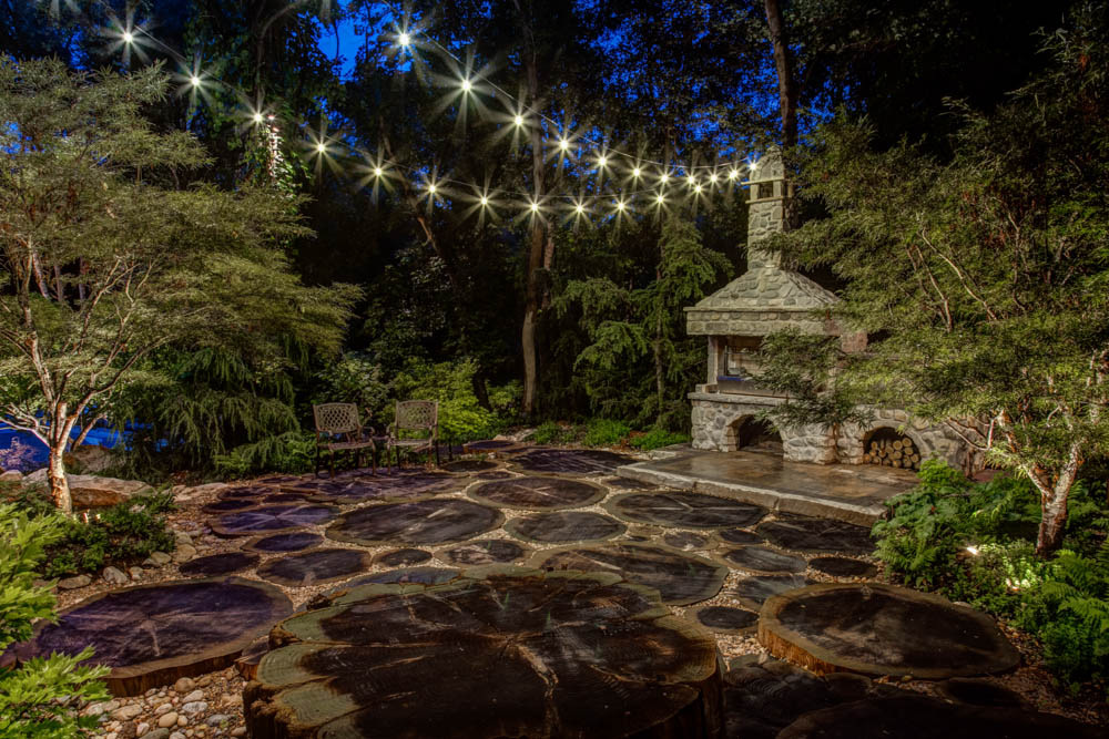 Cheap Patio Lights The bright ideas blog landscape lighting pro of utah pergola lighting your outdoor patio deck fire pit hardscapes workwithnaturefo
