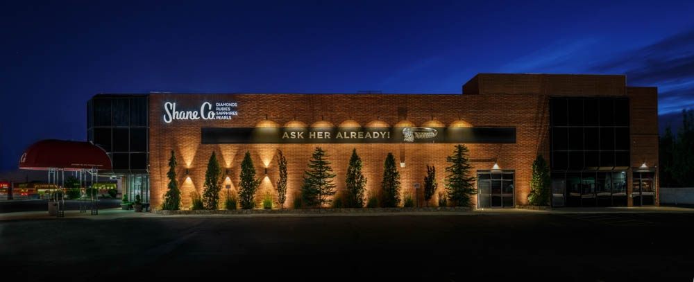The bright ideas blog landscape lighting pro of utah landscape it doesnt matter if it is a local restaurant or jewelry store for many commercial property owners night time security is an enormous concern aloadofball Images
