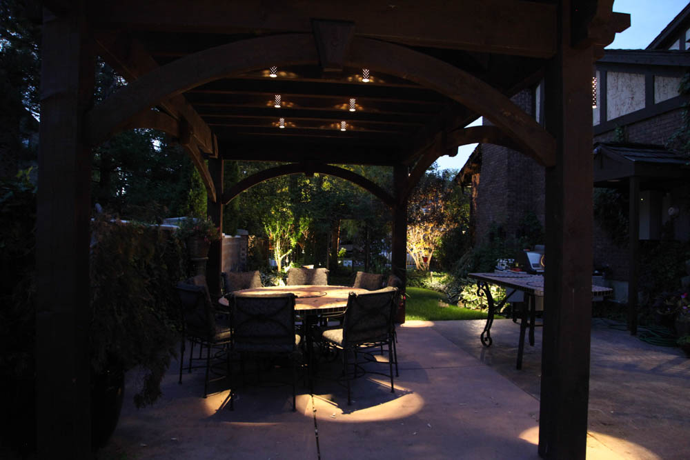 Patio pergola covering
