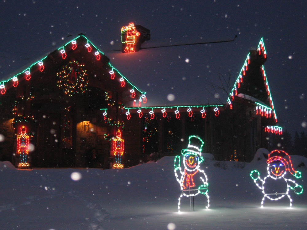 holiday and christmas lighting gallery by landscape lighting pro of utah