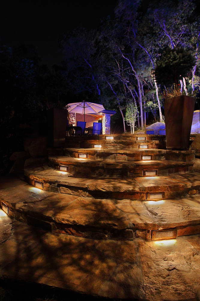 Path and step lighting ideas