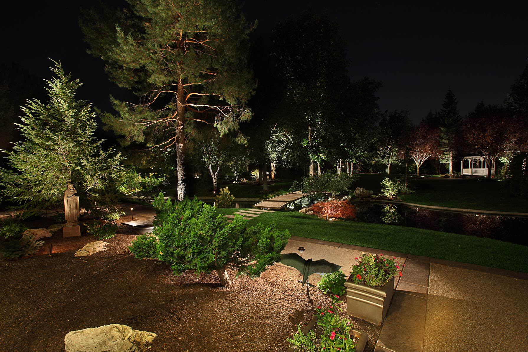 The Bright Ideas Blog Landscape Lighting Pro Of Utah Home
